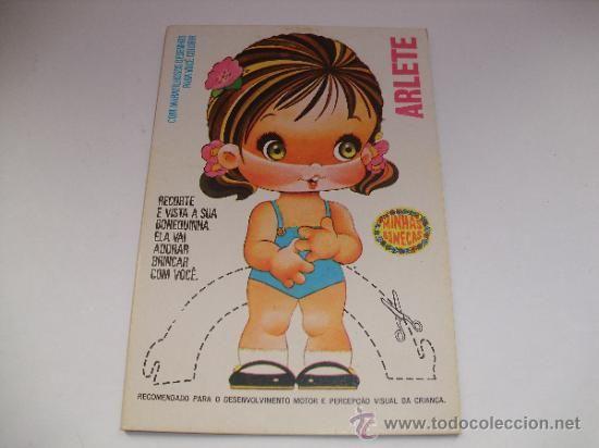 -My RECORTABLES ARLETE- MINI DOLL-EDITORIAL CEDIBRA - BRAZILIAN - Foto 1