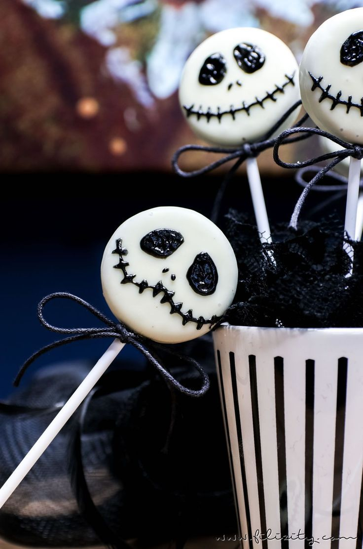 schnelles halloween rezept jack skellington keks lollies. Black Bedroom Furniture Sets. Home Design Ideas