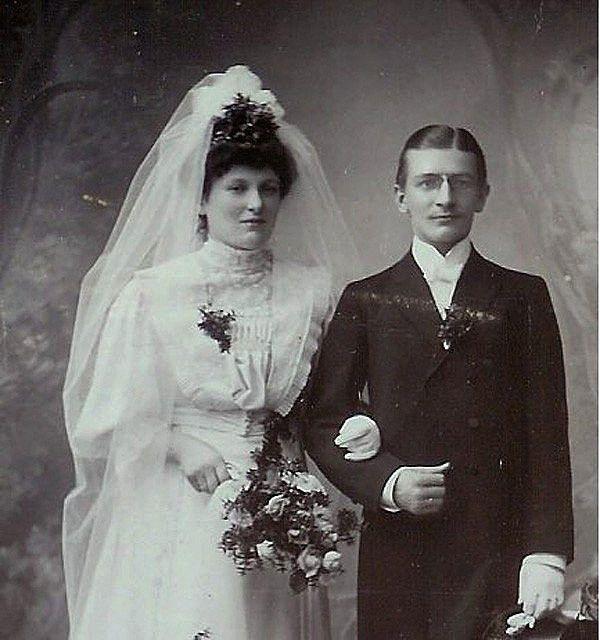 Wedding Photo Pz C 1900. In 2019