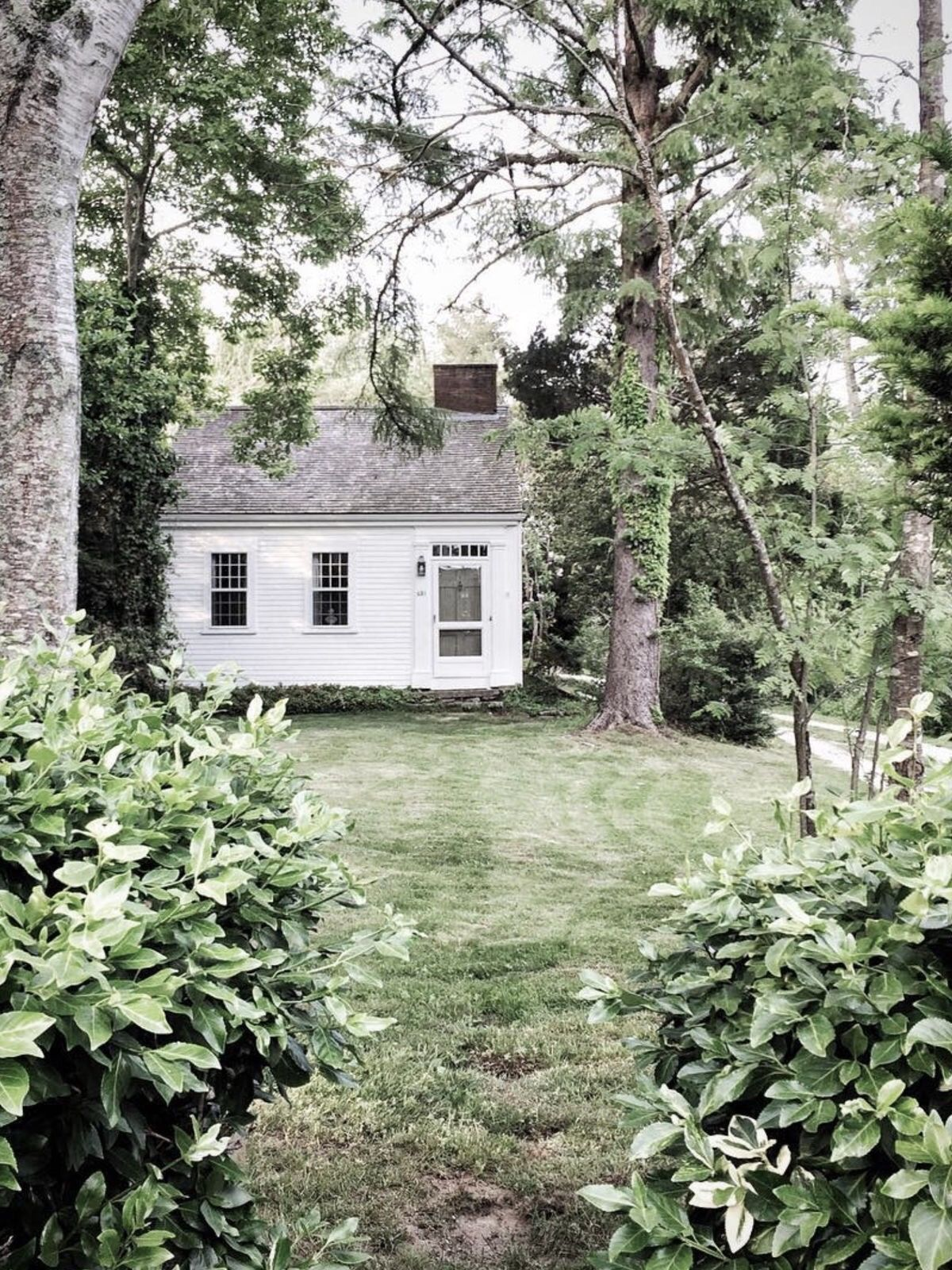 Tiny homes cottage country - White Cottage Country Cottages Mobile Home Wildflowers Country Life Outdoor Ideas Solitude Tiny Homes Fields
