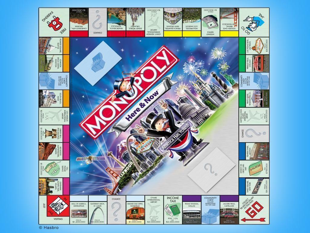 Monopoly wallpaper board games school games monopoly