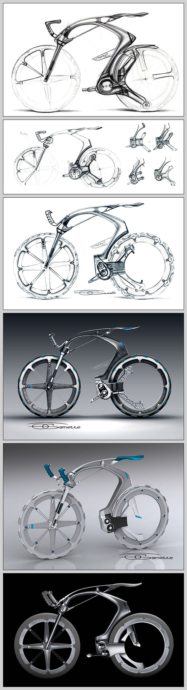 Revista Leaf » Bike Design: As bikes conceito | プロダクトスケッチ ...