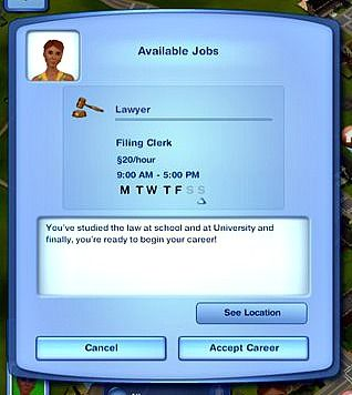 Lawyer Career Sims Sims 3 Sims 3 Mods