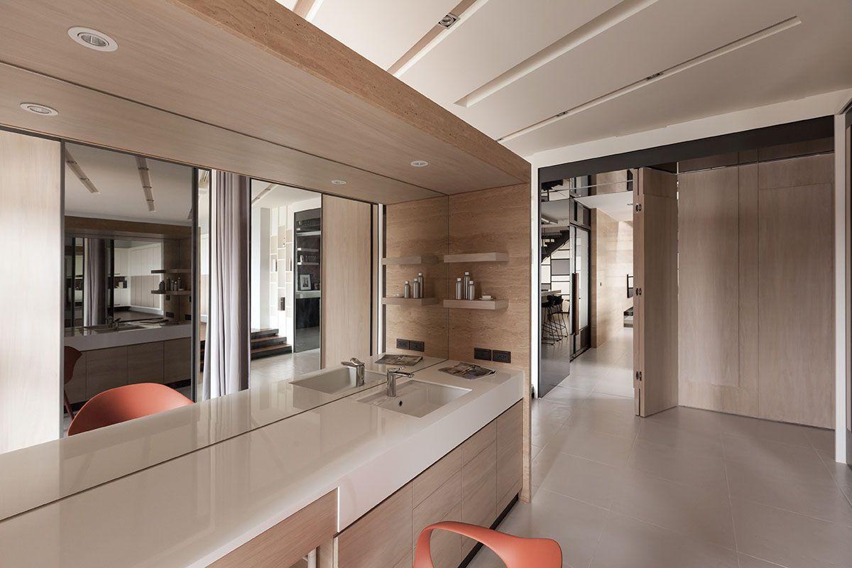 Lo Residence Apartment In Taoyuan, Taiwan | Interior design ...