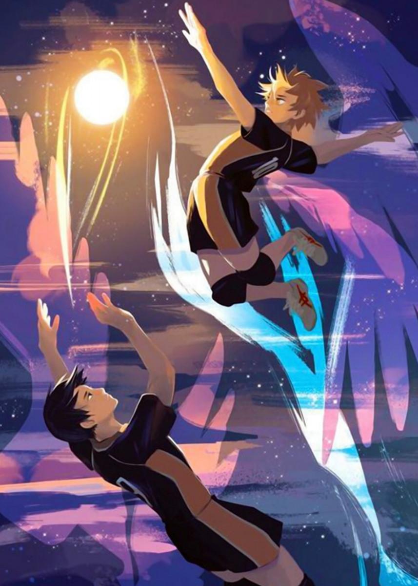 'Karasuno Sun' Poster Print by Anime Lover | Displate