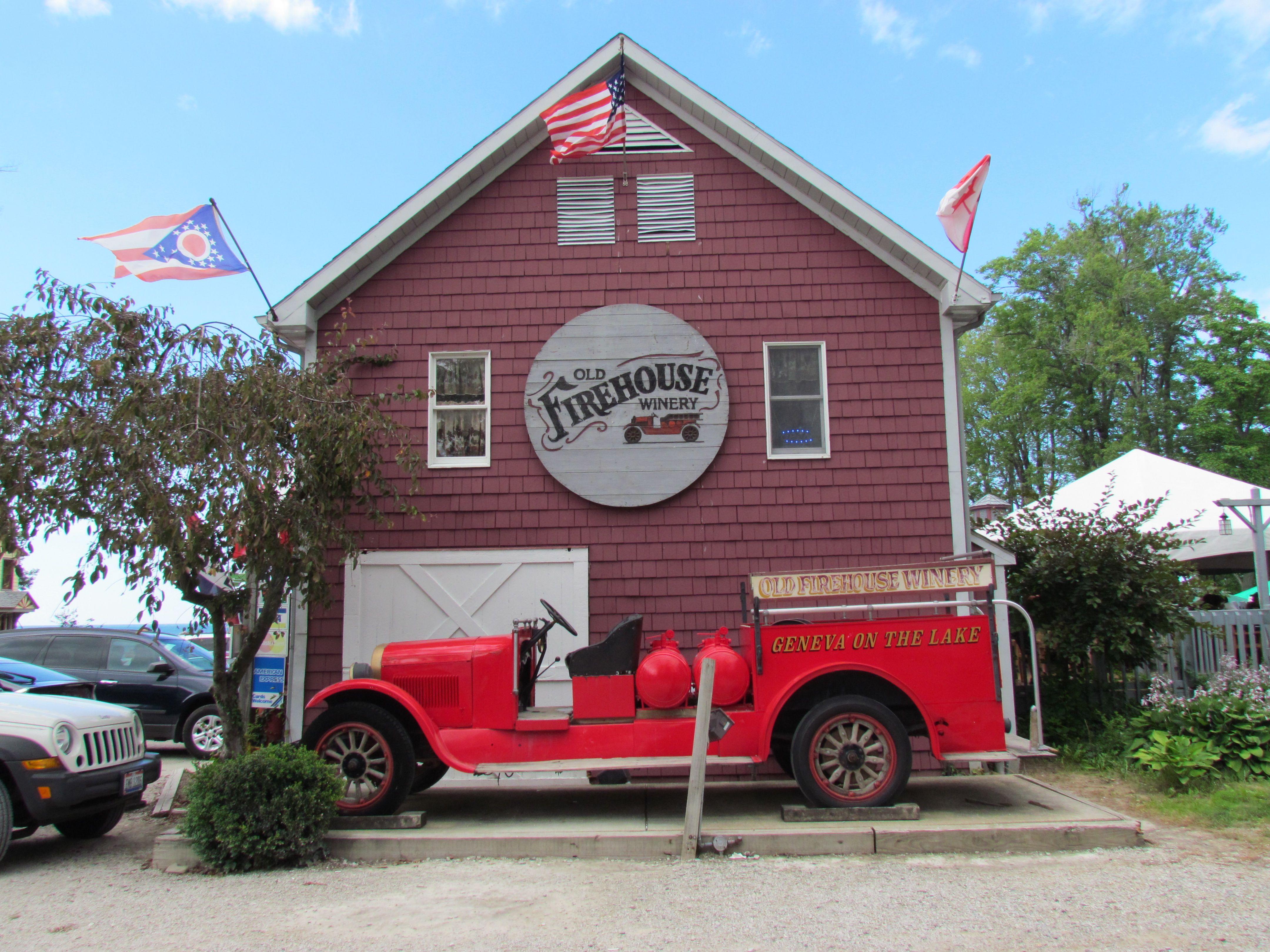 Old Firehouse Winery Winery Ohio Lake Geneva