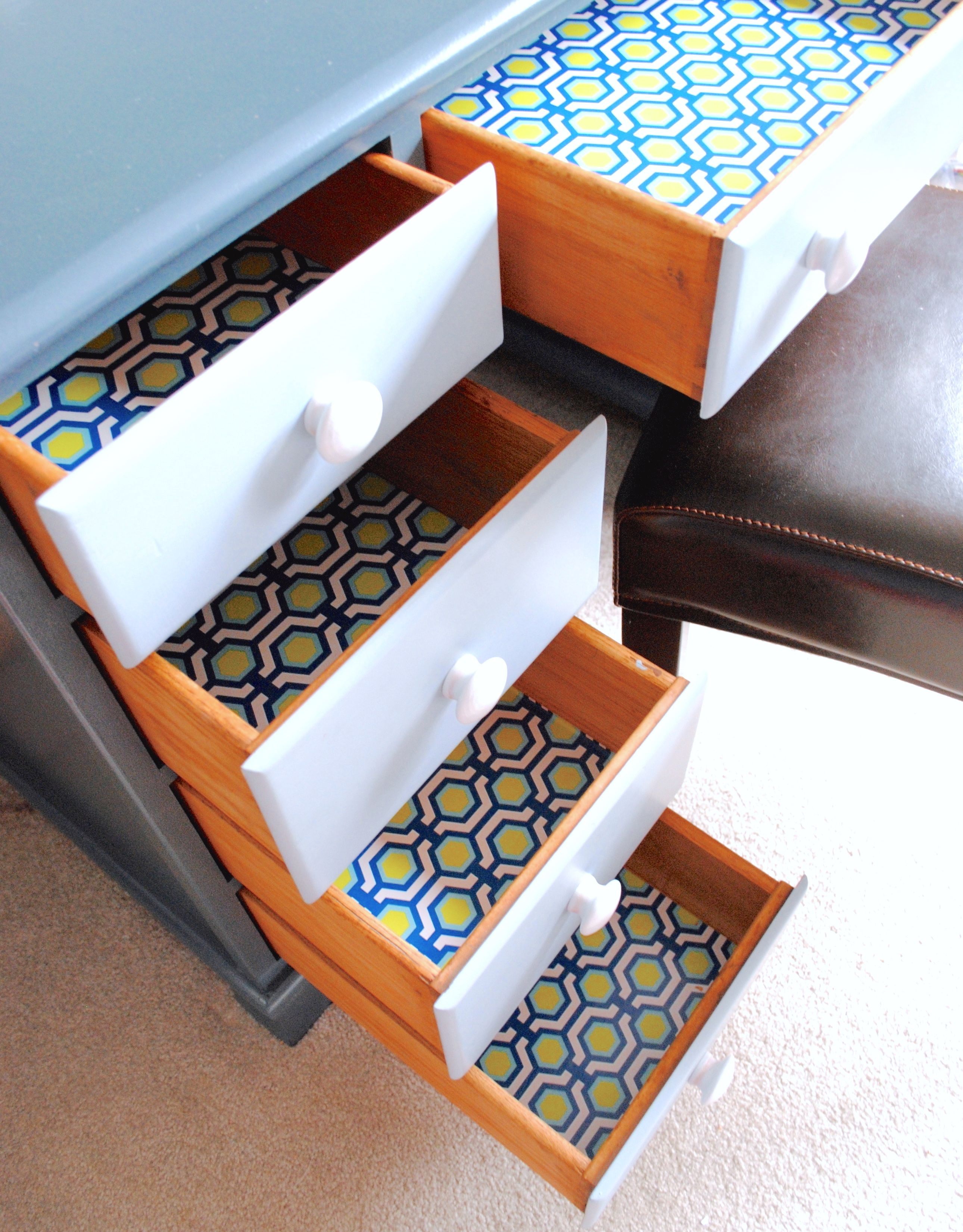 Decorative Contact Paper Shelf Liner Craftsman Closet Boys
