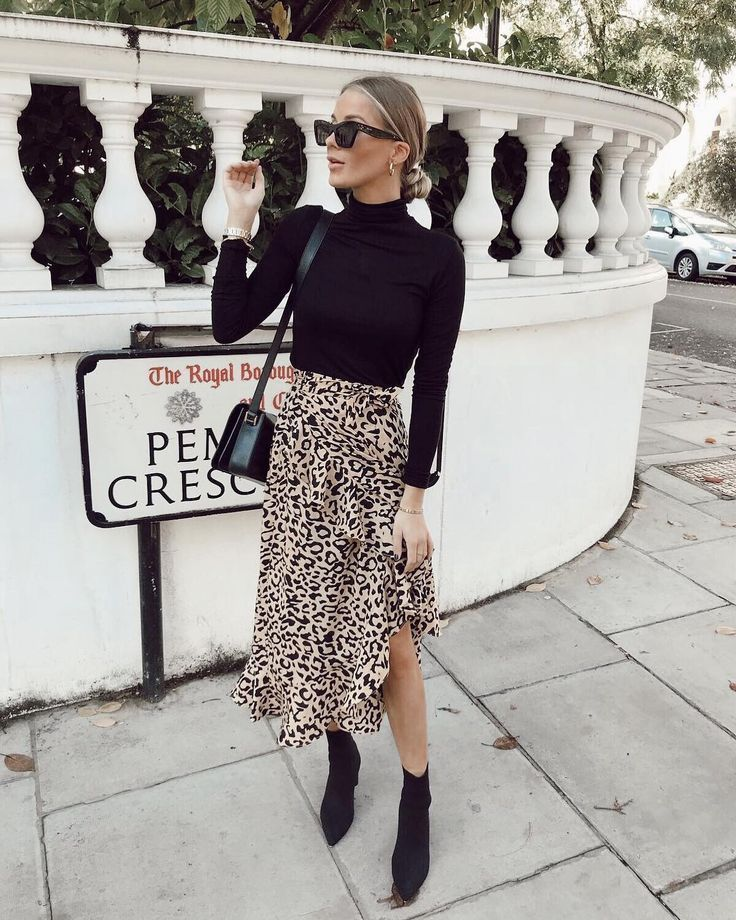 """Photo of SilkFred.com on Instagram: """"Say & # 39; No & # 39; to boring clothes 🚫 Say & # 39; Yes & # 39; to the wrap skirt with Lulu leopards and simply beautify your everyday outfits 💁🏽♀️😍 Tip for shopping! 📸… """""""
