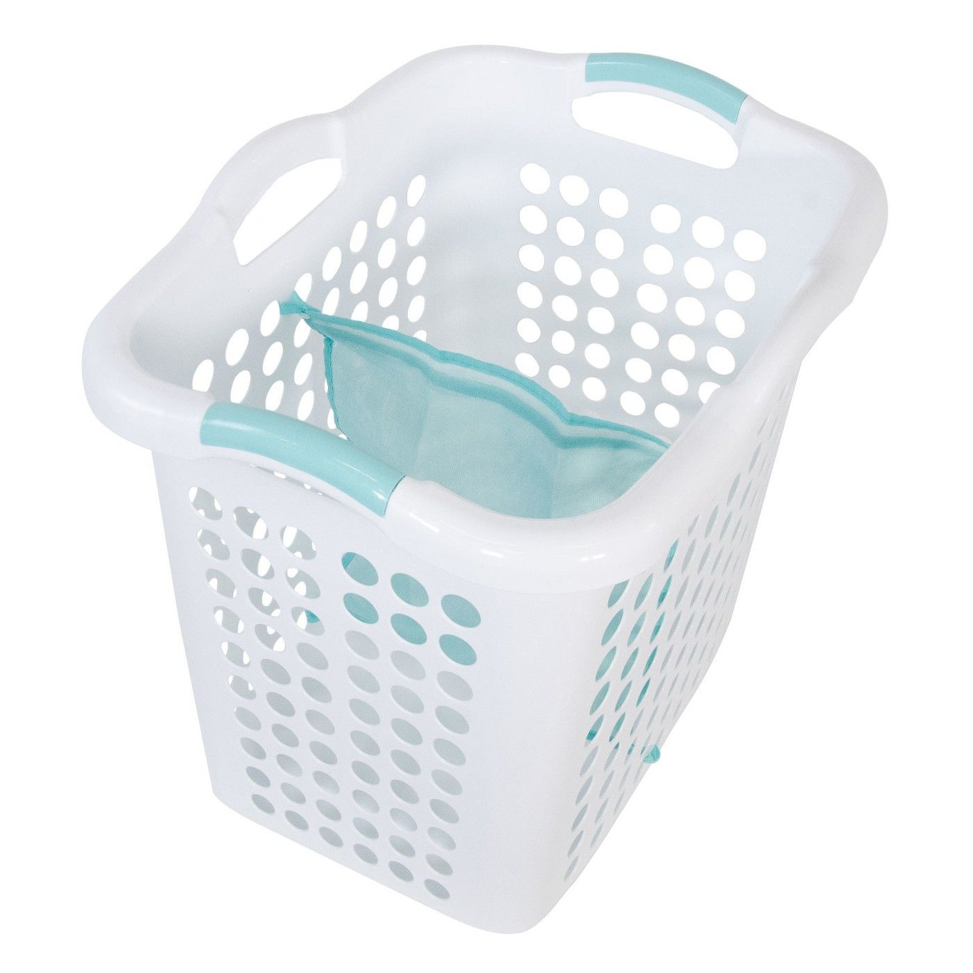 Laundry Basket With Mesh Divider Laundry Tote Laundry Laundry