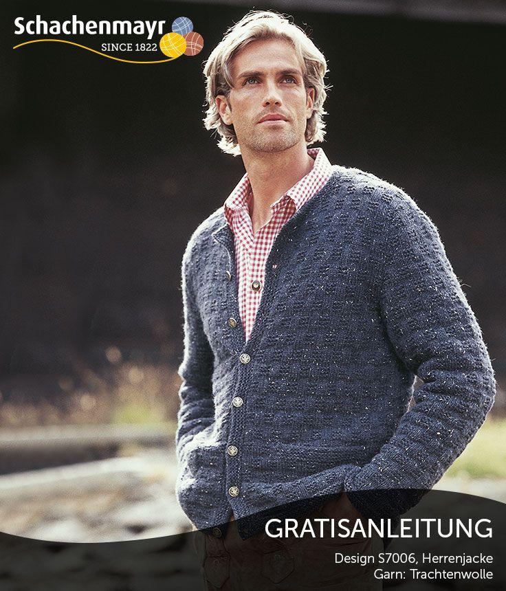 Diese Herren-Jacke ist bequem und robust. Das Webmuster - eine ...