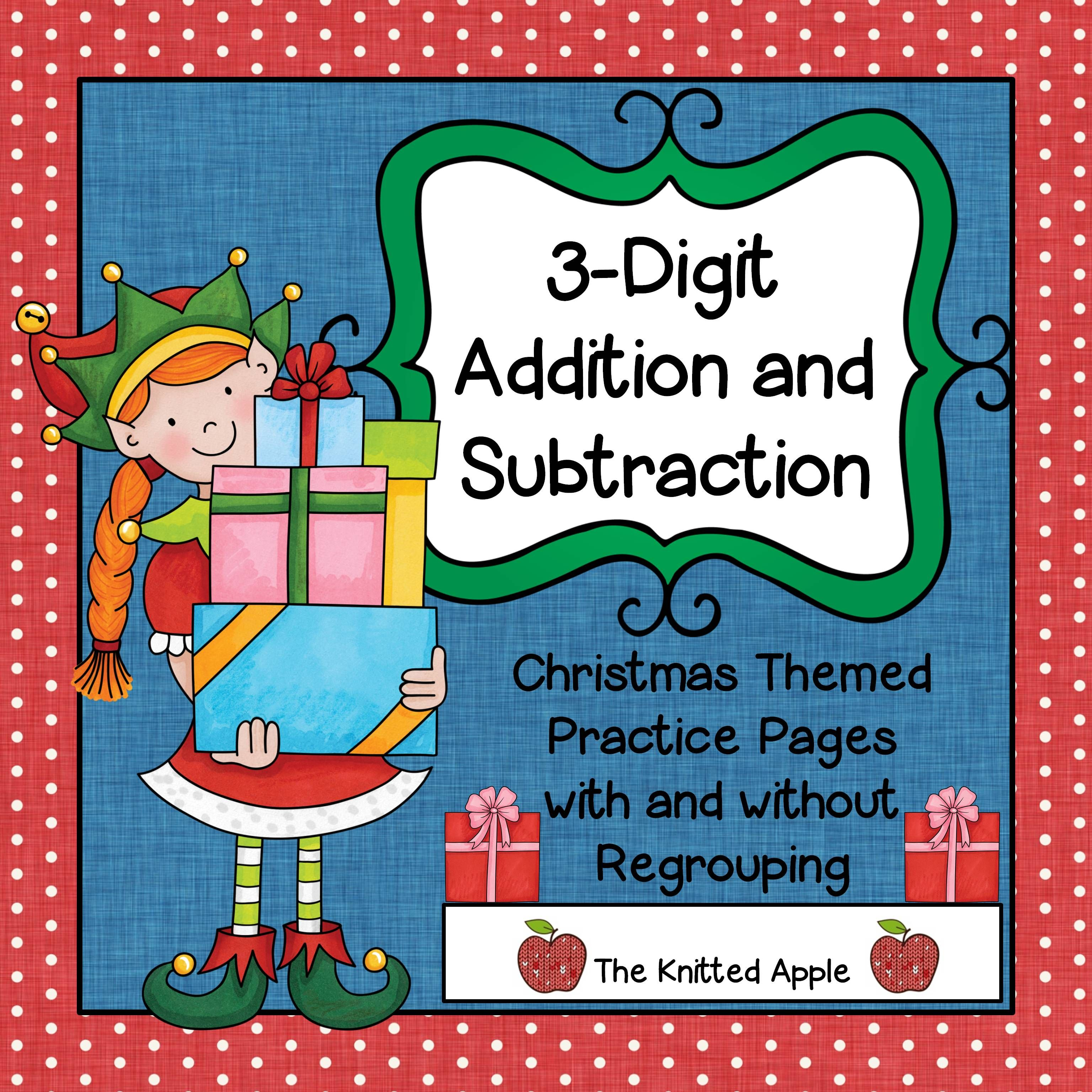 3 Digit Addition And Subtraction With And Without