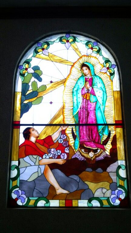 Virgen de Guadalupe y San Juan Diego