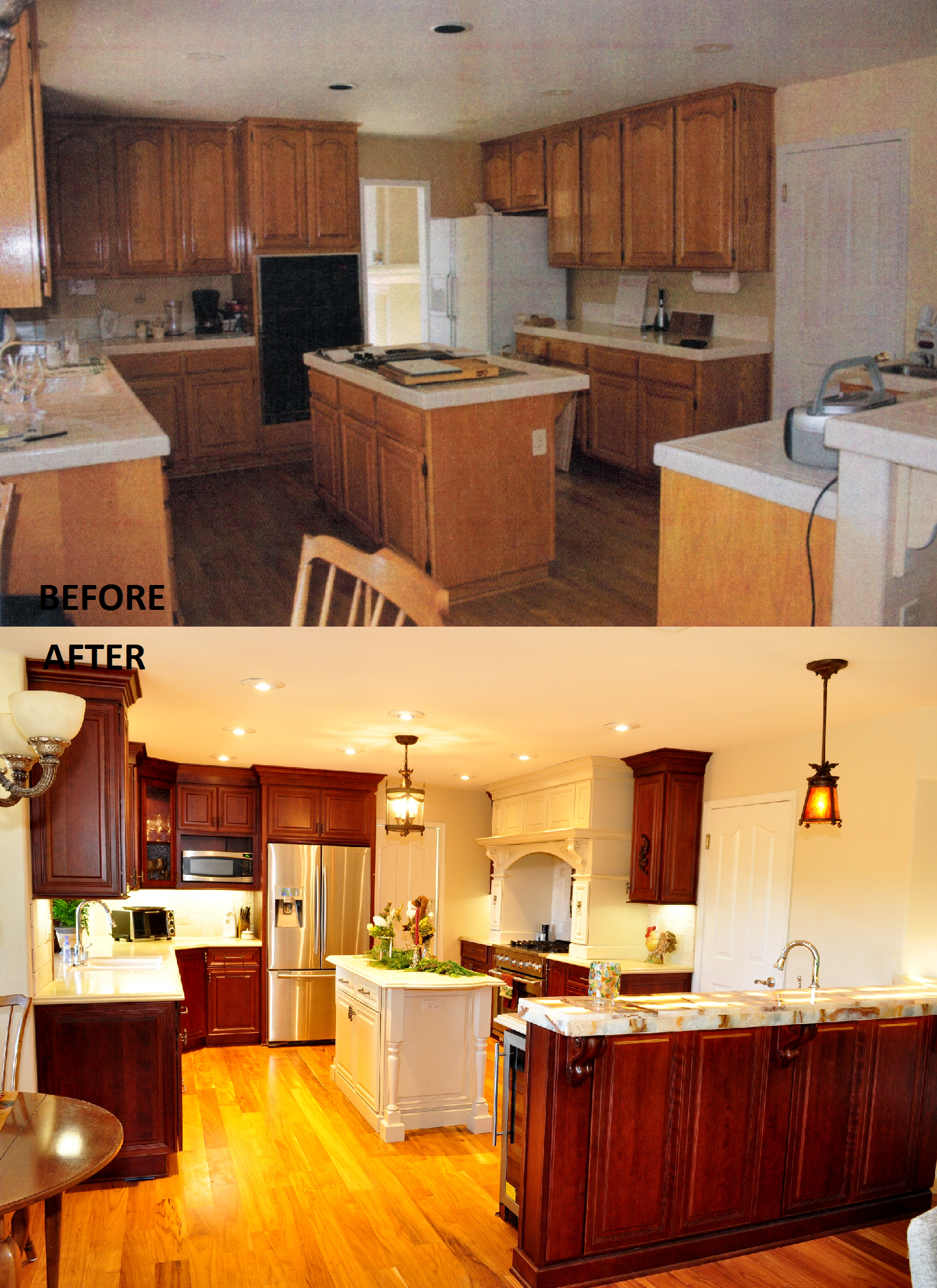 Kitchen Remodel done by Kitchens Etc of Ventura County