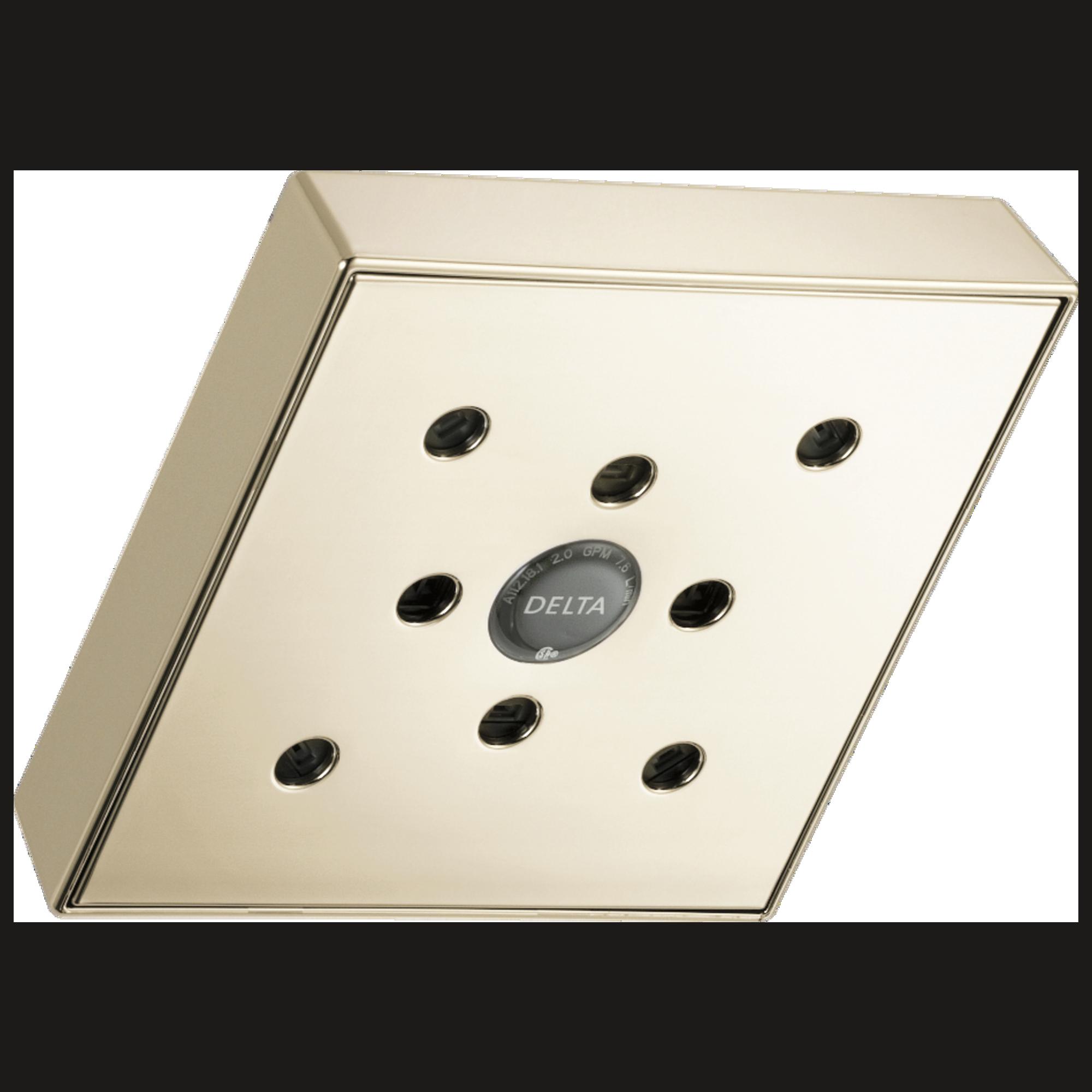 Delta Faucet Rp70171 Pn20 H2okinetic Raincan Single Setting Shower