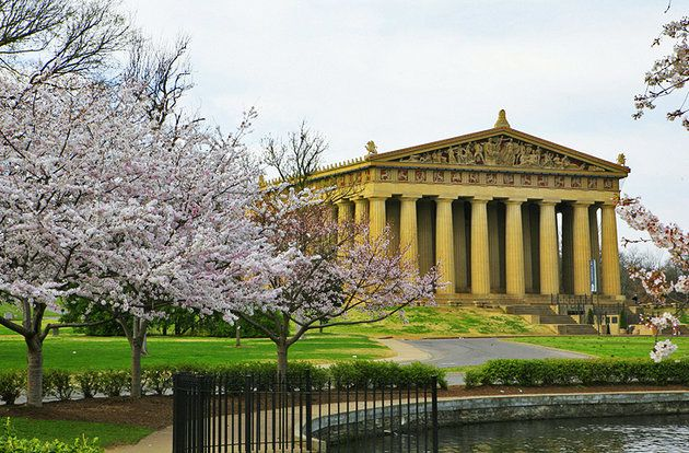 The Nashville Parthenon They went here in the 1st Percy Jackson