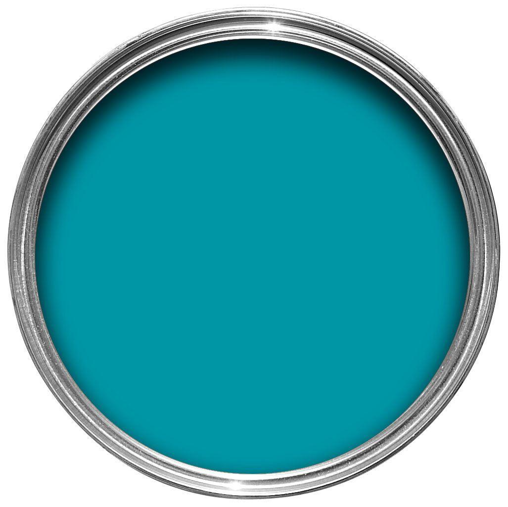 Colours one coat tropez blue matt emulsion paint 25l