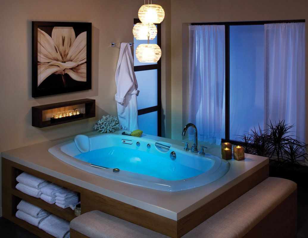 Maax 105314-104 Release 7242 Whirlpool Bath Tub 72\