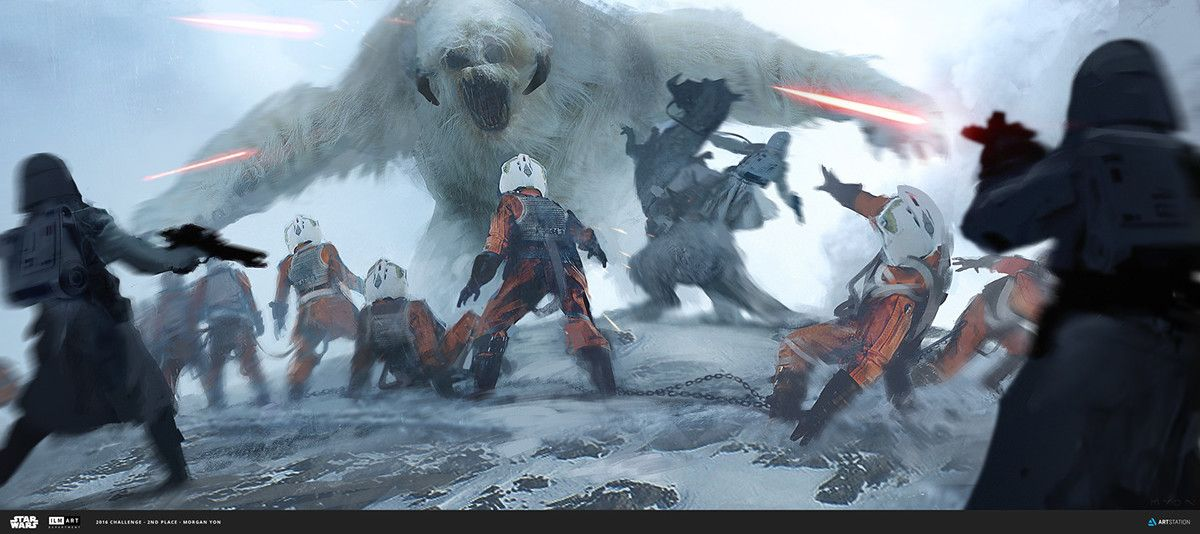 ILM Art Department Challenge // The Job on Behance