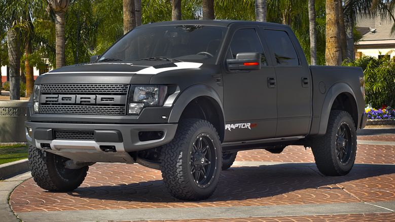 Ford Raptor Black Interior