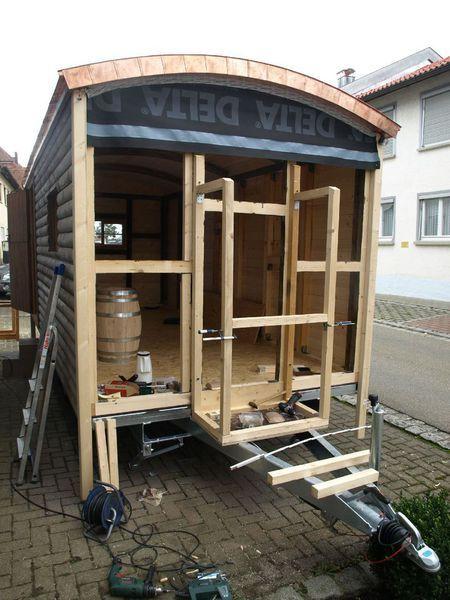 Der sch ferwagenbau jochen m ller bietet seinen kunden auf anfrage nur einen aussenbau an und - Bauwagen selber bauen ...