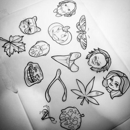 Tumblr Njd3wctohx1tzmsloo1 500 Jpg 500 500 Movie Tattoos Tattoo Stencils Halloween Tattoos