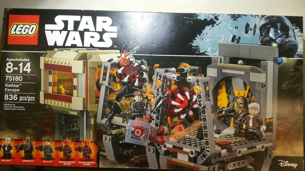 Sealed LEGO Star Wars Rathar Escape 75180 Brand new