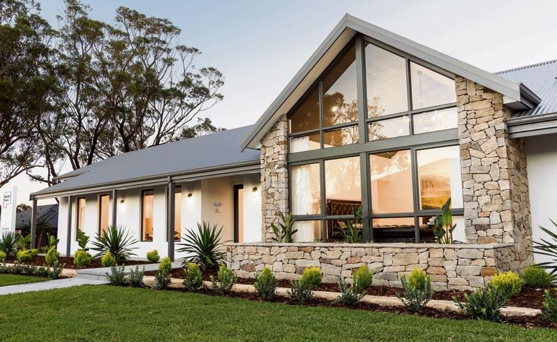 Modern Country Style Homes Australia In 2020 Country House Design Country Home Exteriors Contemporary Country Home