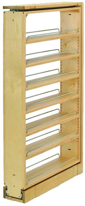Rev-A-Shelf 432-TF45-6C 432 Series 6 Inch Wide by 45 Inch Tall ...