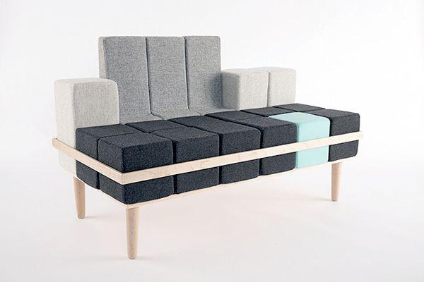 tetris furniture the blocd sofa tetris inspired furniture furniture pinterest