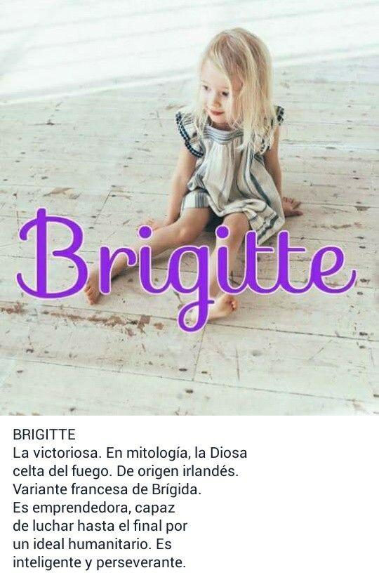 nombre anime mujer significado: Nombres Para Niñas Y Su Significado. Brigitte.