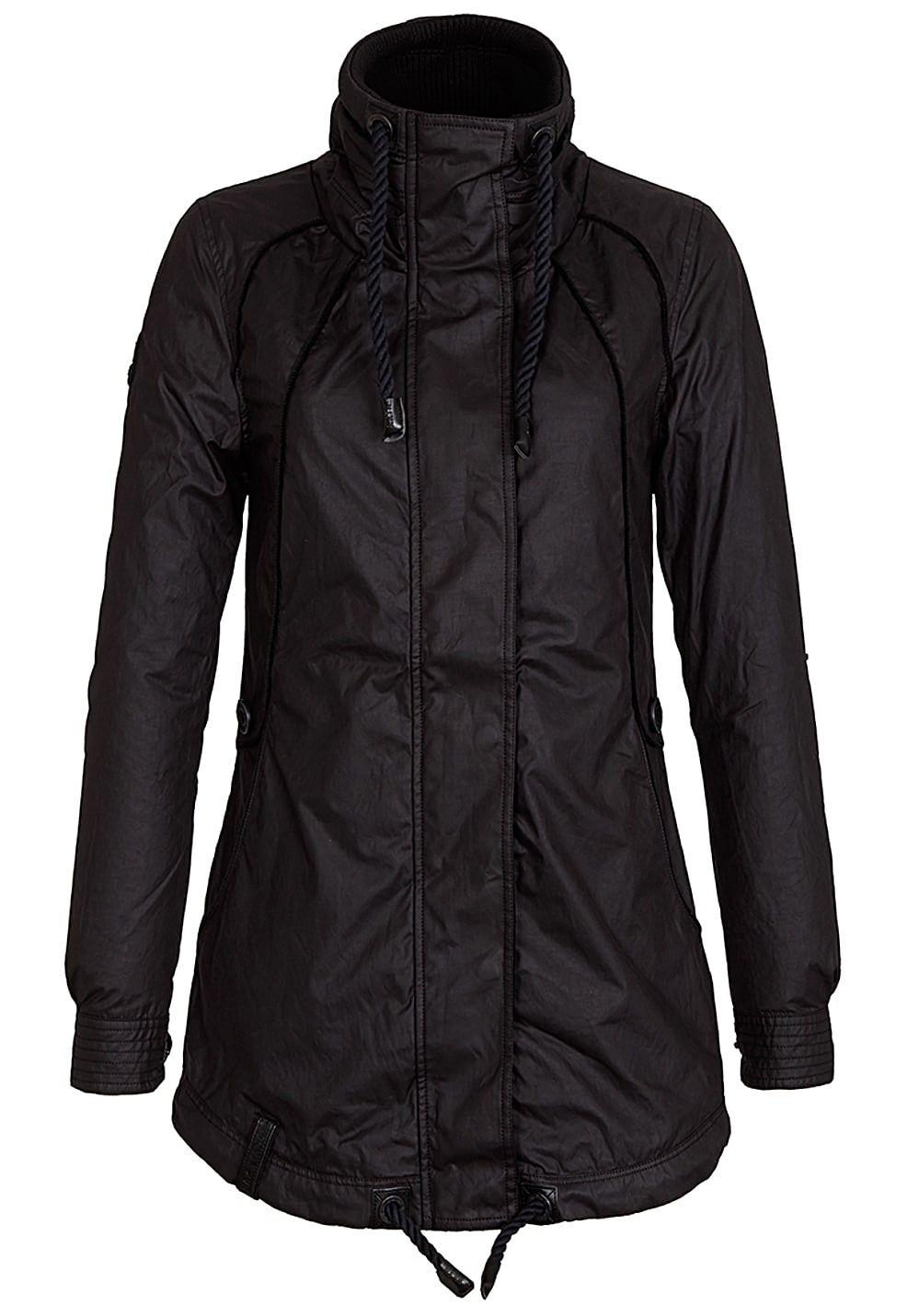 Naketano Black Tanaka Jacke für Damen Schwarz Jetzt