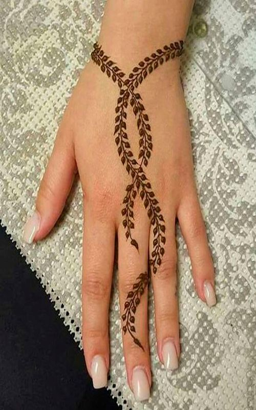 13 Unique Henna Designs Doing The Rounds This Wessing: Unique Mehndi Designs Style