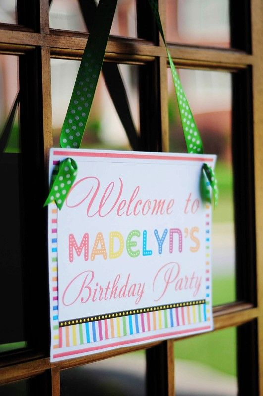 Rainbow Unicorn 7th Birthday Party - Kara's Party Ideas - The Place for All Things Party