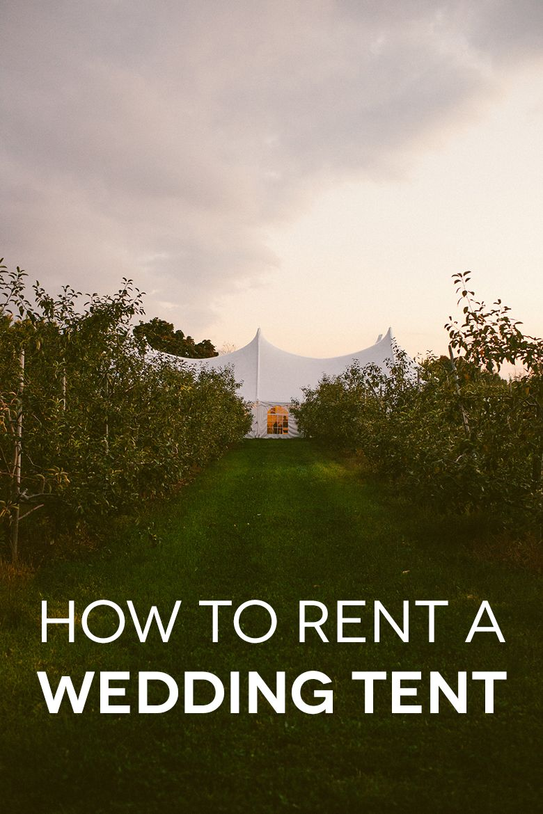 You canu0027t pick your weather but you can prepare for it. How to rent a wedding tent for your venue. & How Do You Rent A Wedding Tent? Prices Sizes and Types of Tents ...