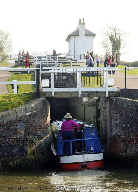 Foxton Locks Canal Boat Canal Barge Boat