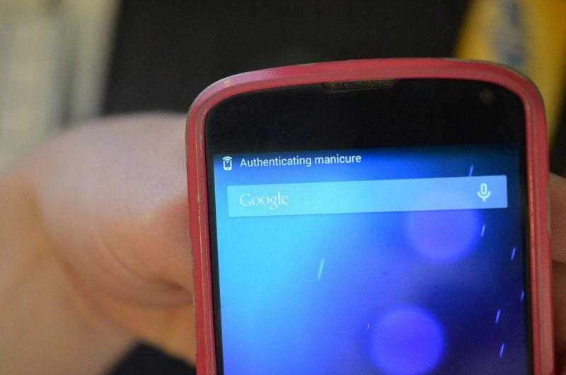 Unlock Android Phone with Wearable NFC Tutorial: Handle