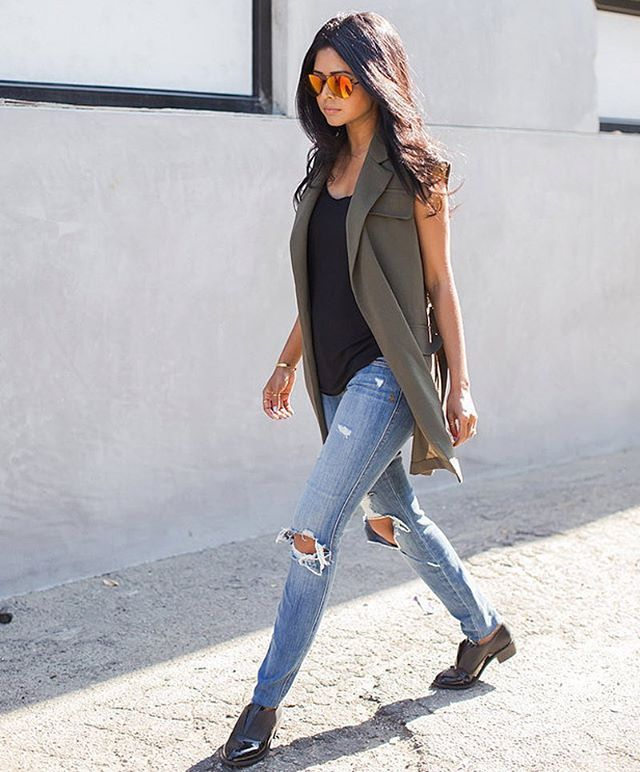 1b55390f1e Love a vest for Spring! // Follow @ShopStyle on Instagram to shop this look