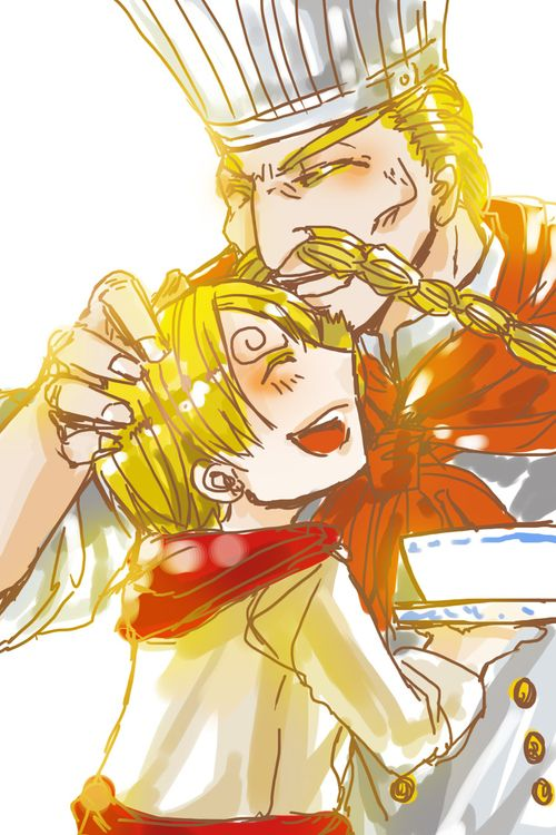 Sanji and Zeff   One piece comic, One piece anime, Anime ...