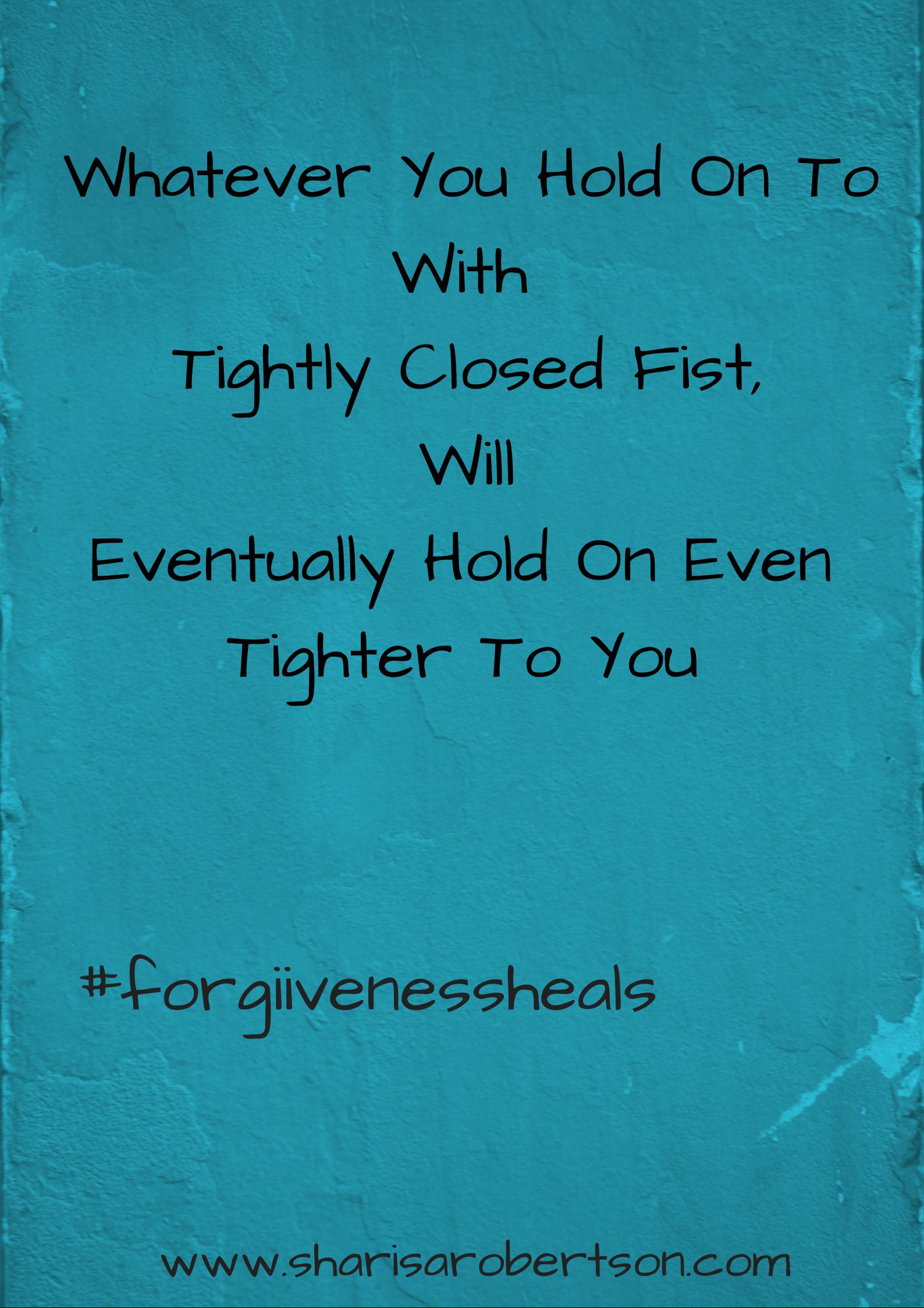 #forgivenessheals