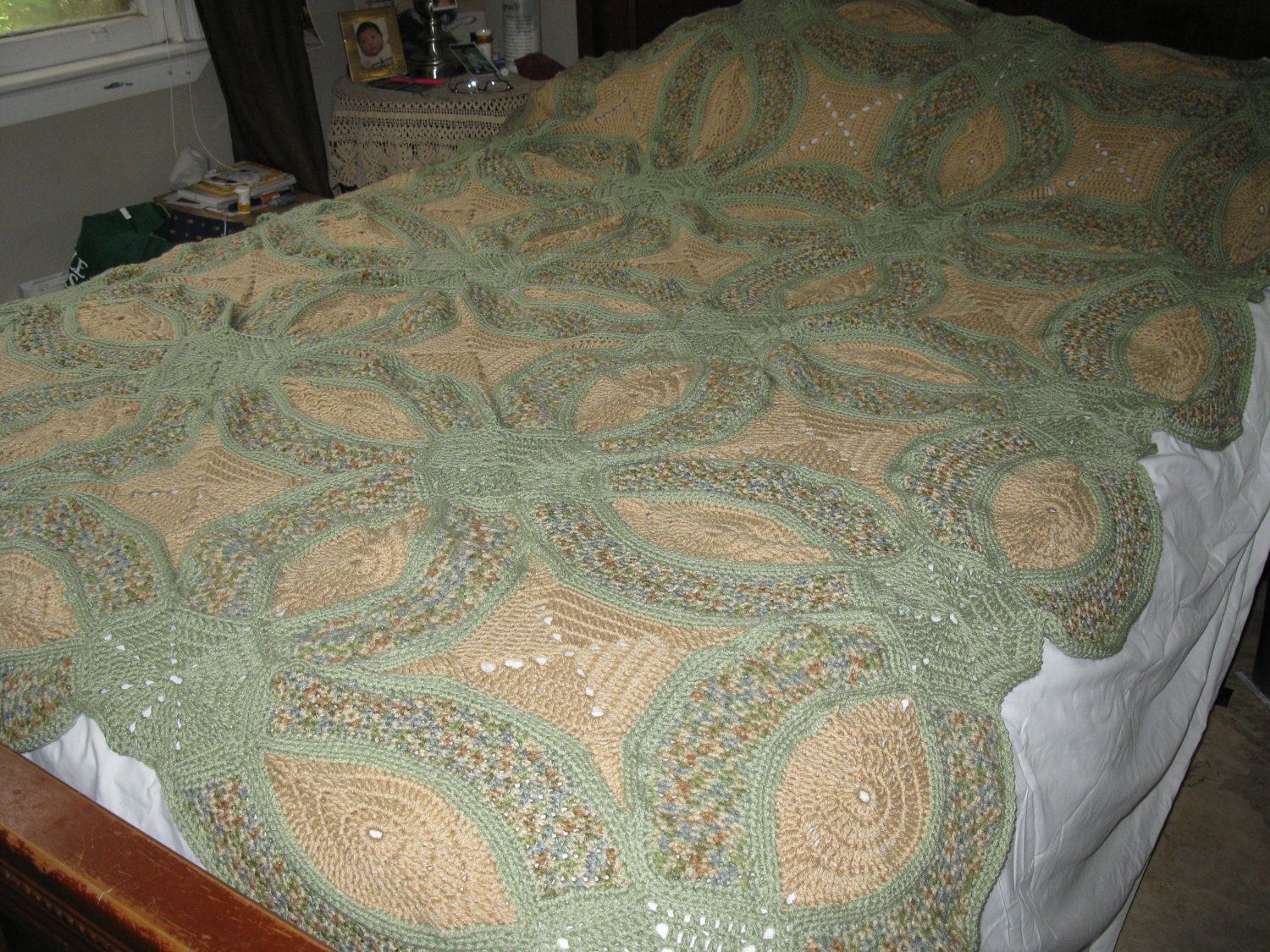 Finally finished my afghan Crochet ideas Pinterest Crochet
