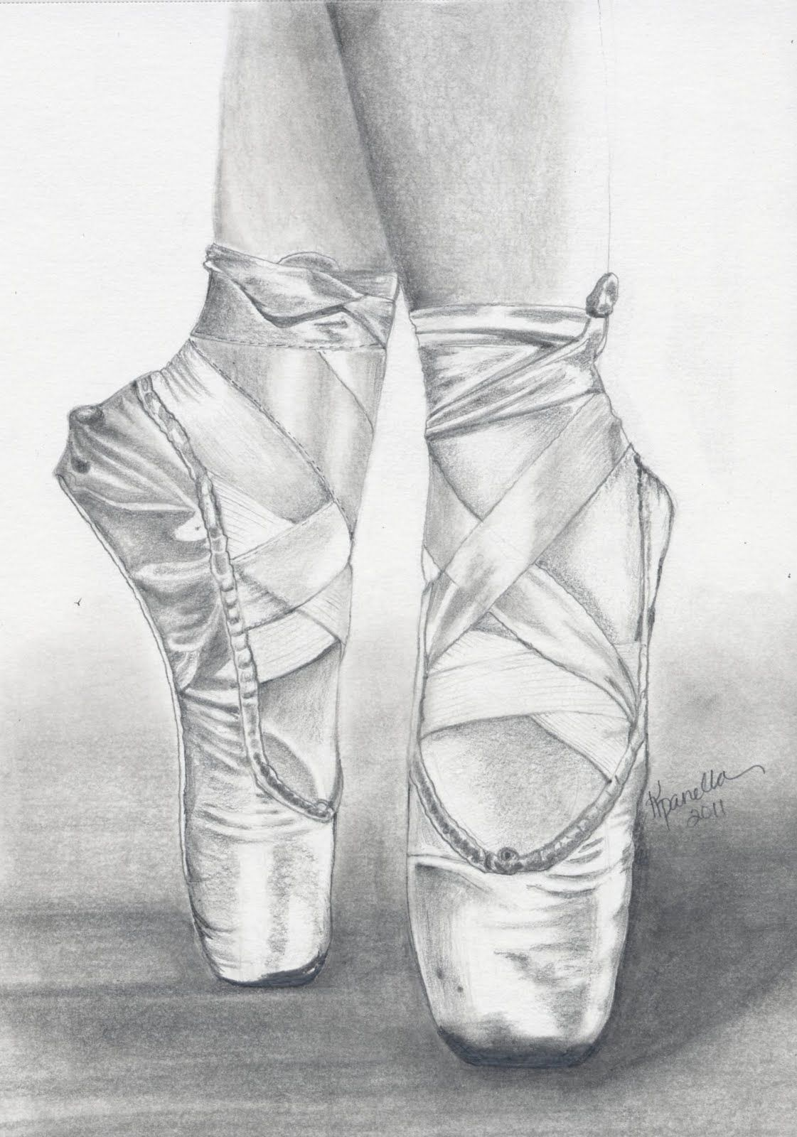 Converse pointe shoes