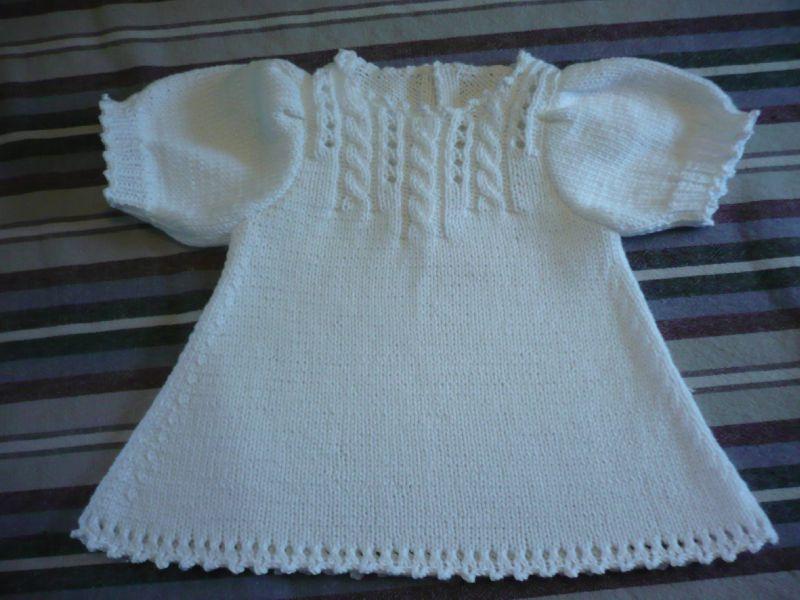comment tricoter une robe pour bebe