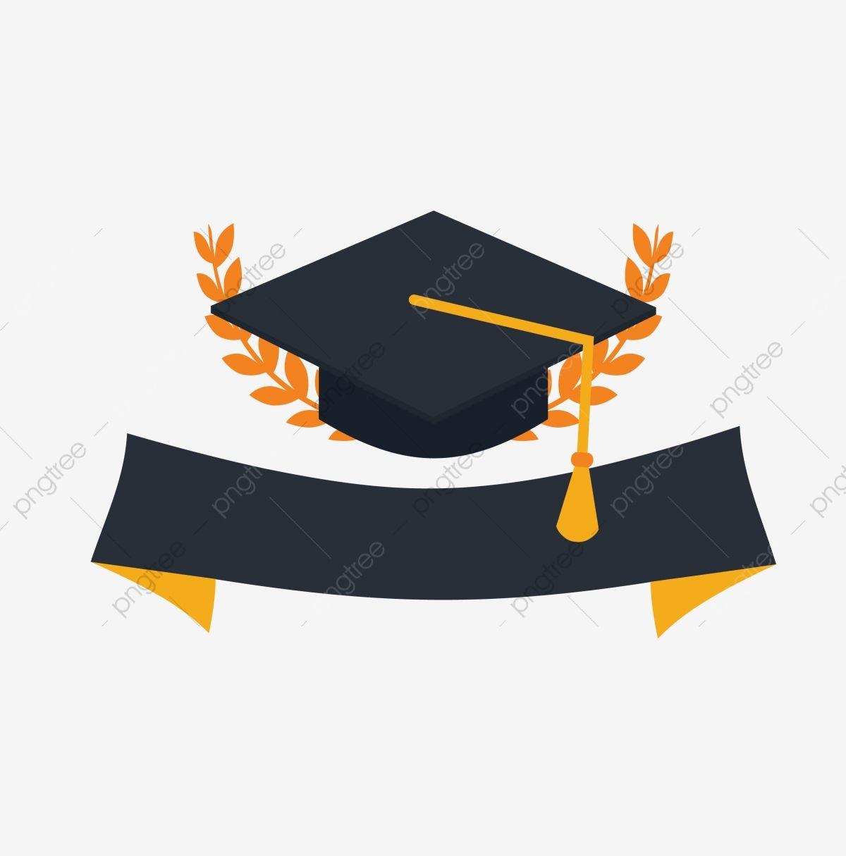 Cartoon Graduation Season Hat Hat Graduation Season Decoration Graduation Hat Clipart Graduation Hat Graduation Season Hat Png And Vector With Transparent Ba Graduation Hat Graduation Graduation Party Decor