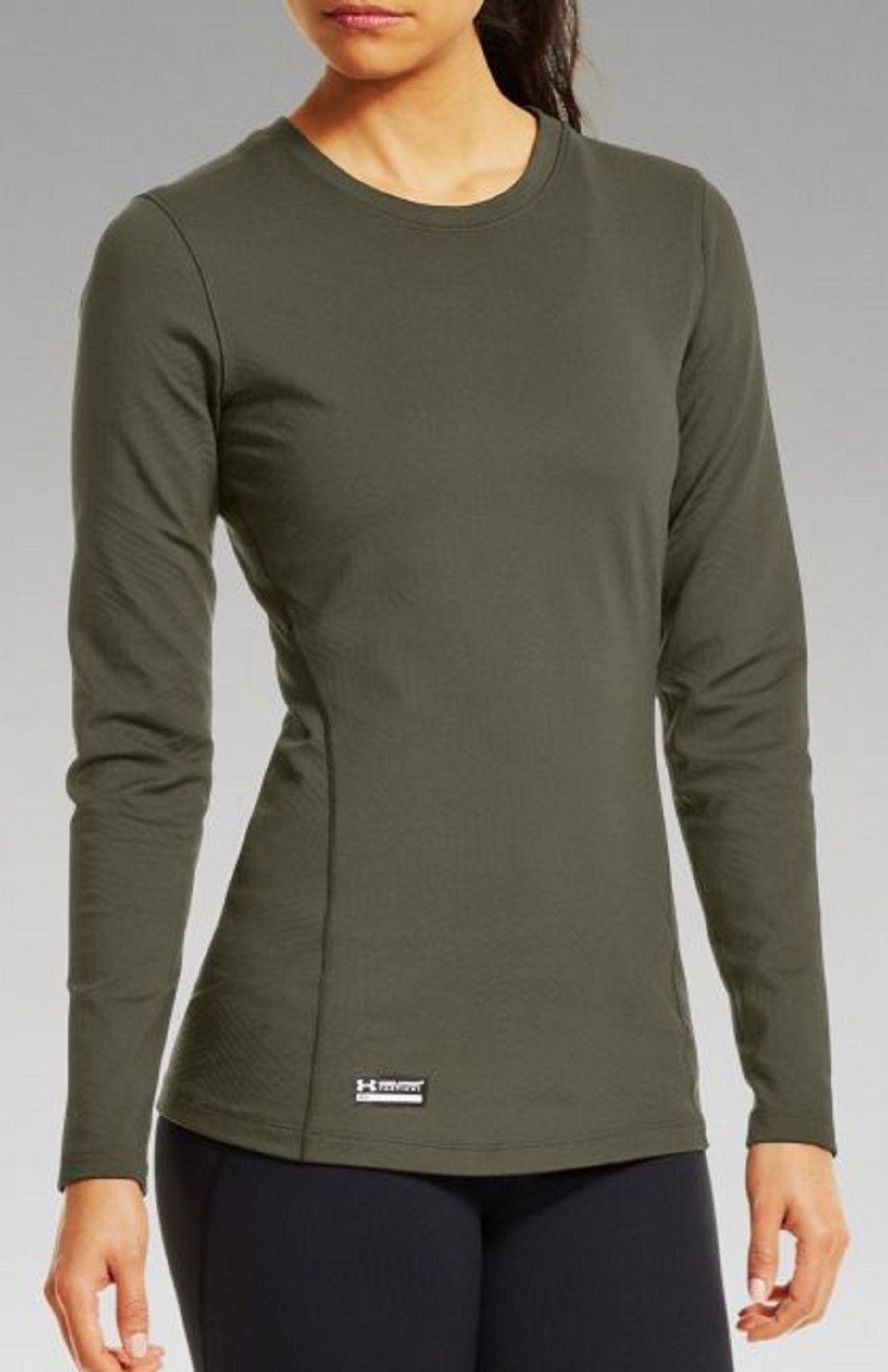 cd31714cd6e0 Women s Under Armour Fitted Tactical Crew Shirt UA ColdGear Performance Top