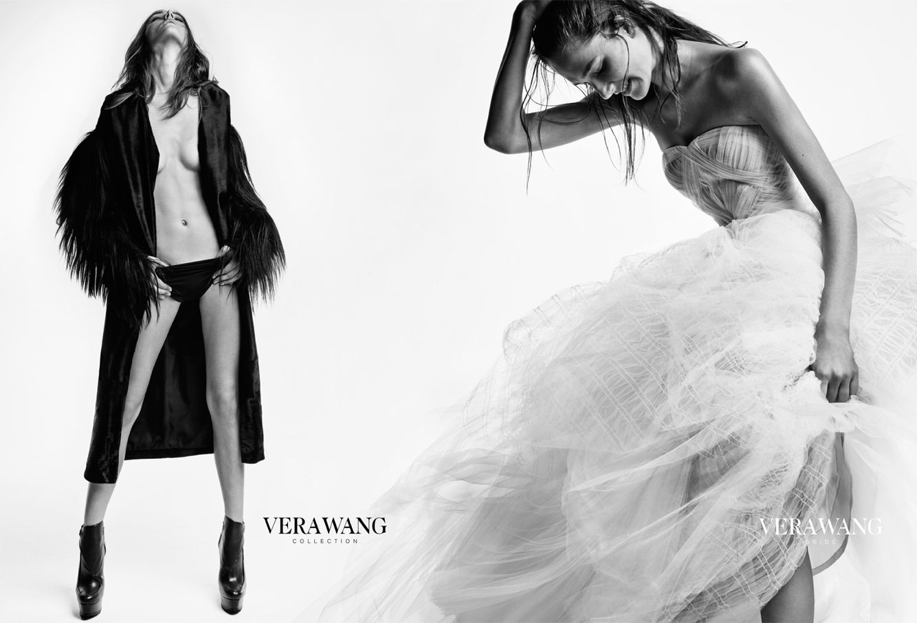Vera Wang 2014 Photo by Patrick Demarchelier