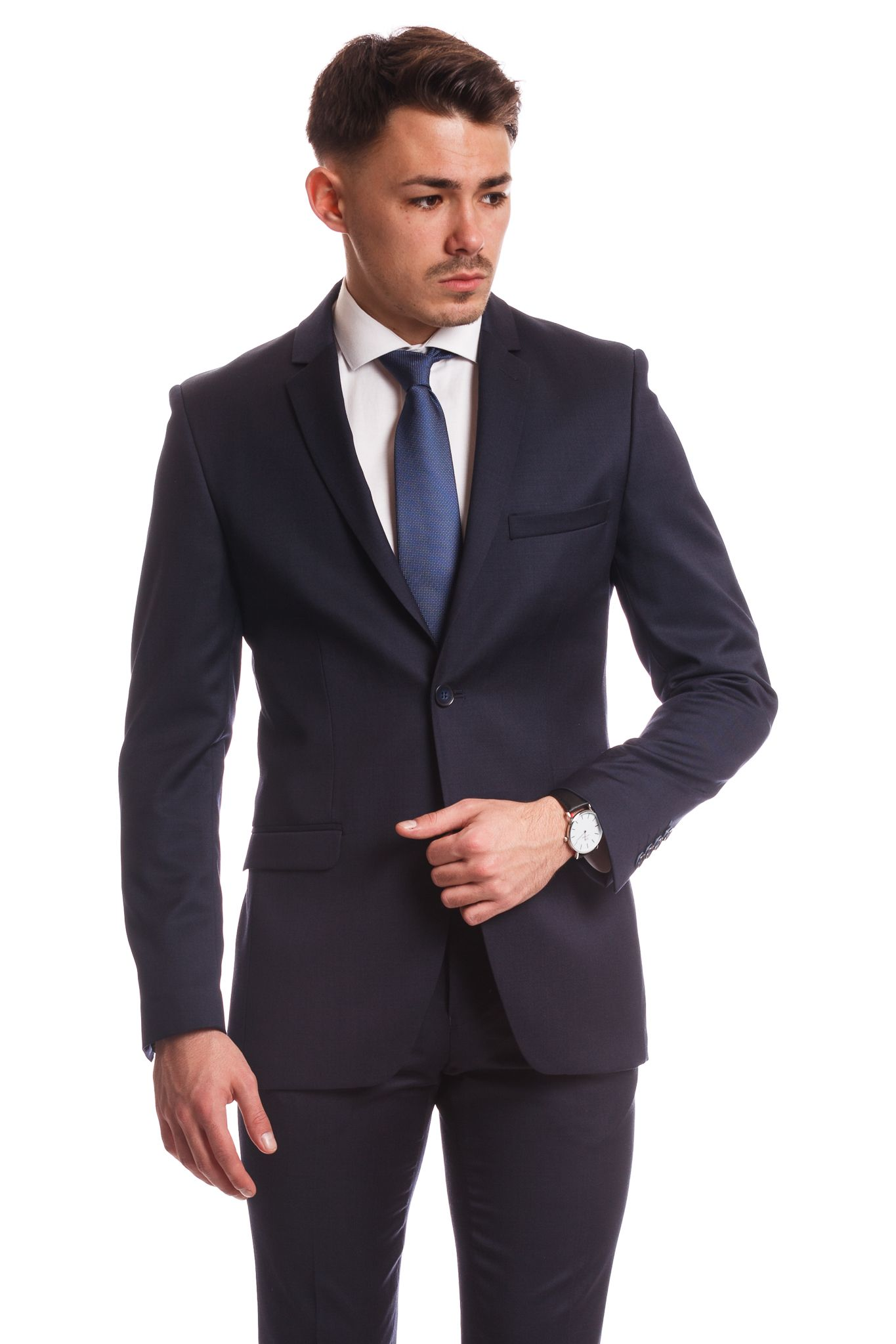 ca6e85abb6 Sötétkék Slim Fit Öltöny | Elite Fashion öltönyház | Elite Fashion ...