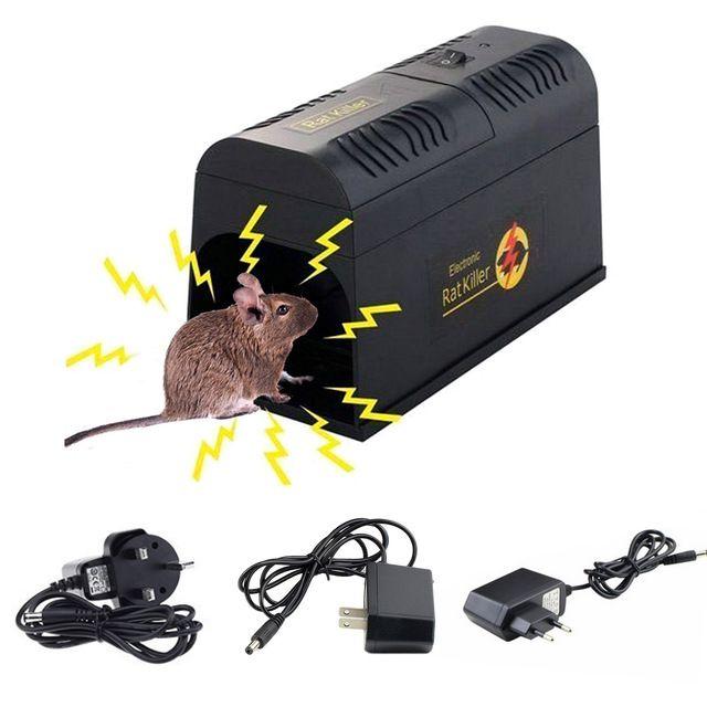 Electric Shock Mousetrap Pest Control Eu Us Uk Plug Pest
