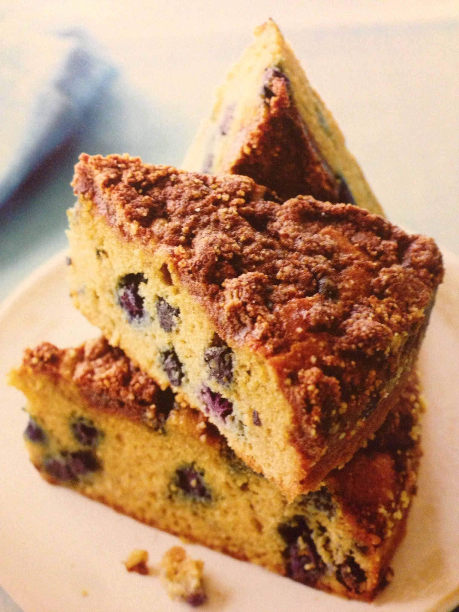 Blueberry Coffee Cake from Paleo Cooking from Elana's Pantry ...