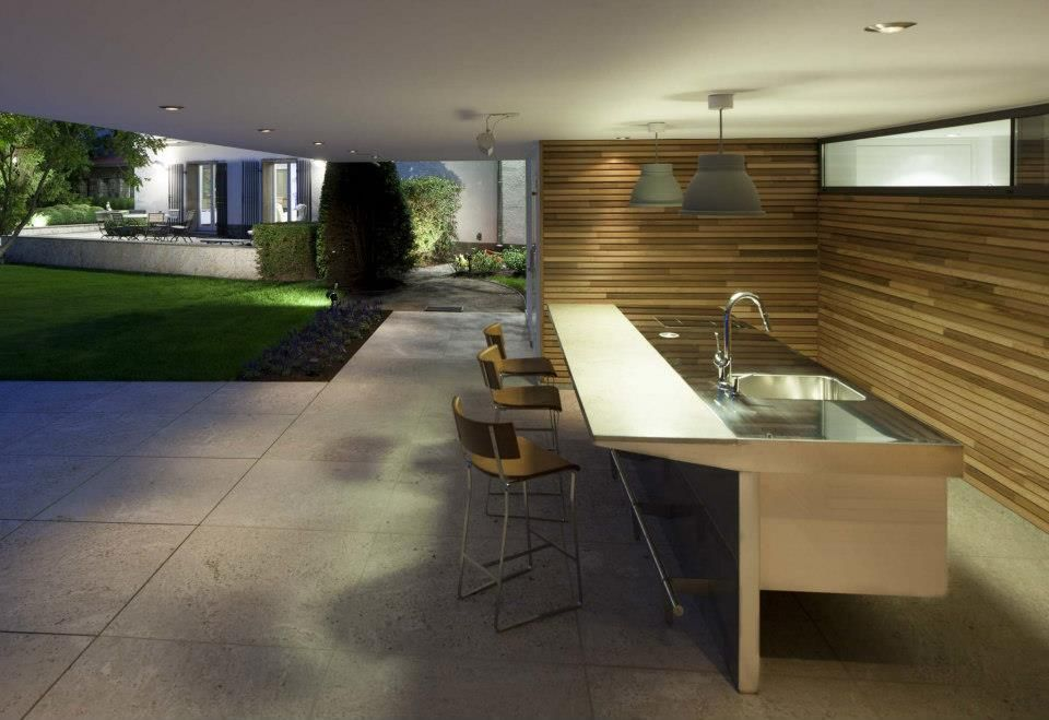 A \ - edelstahl outdoor küche