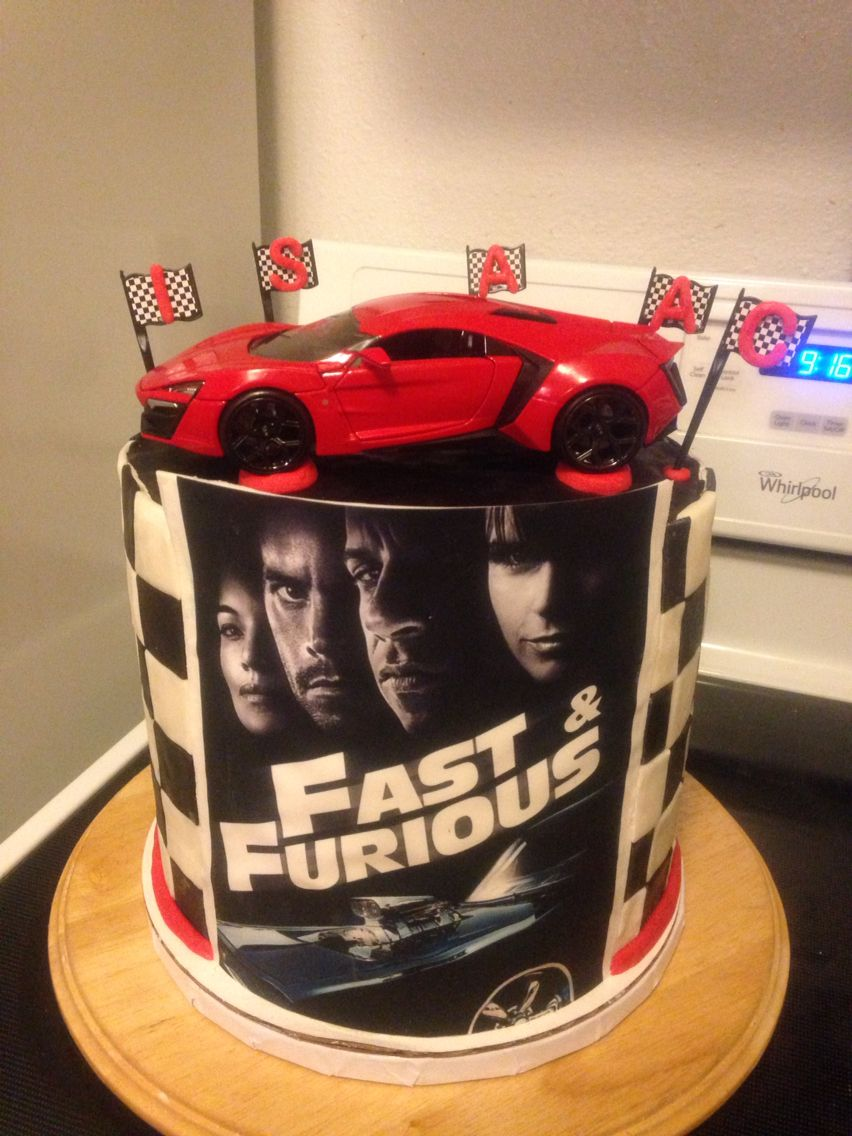 Fast Amp Furious Cake Cupcaked Fast Furious Birthday